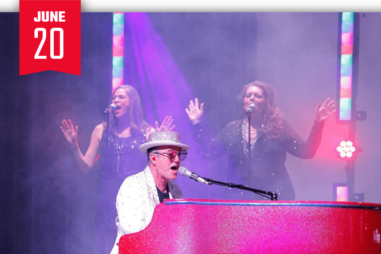 Elton Dan & The Rocket Band With Robb Stewart
